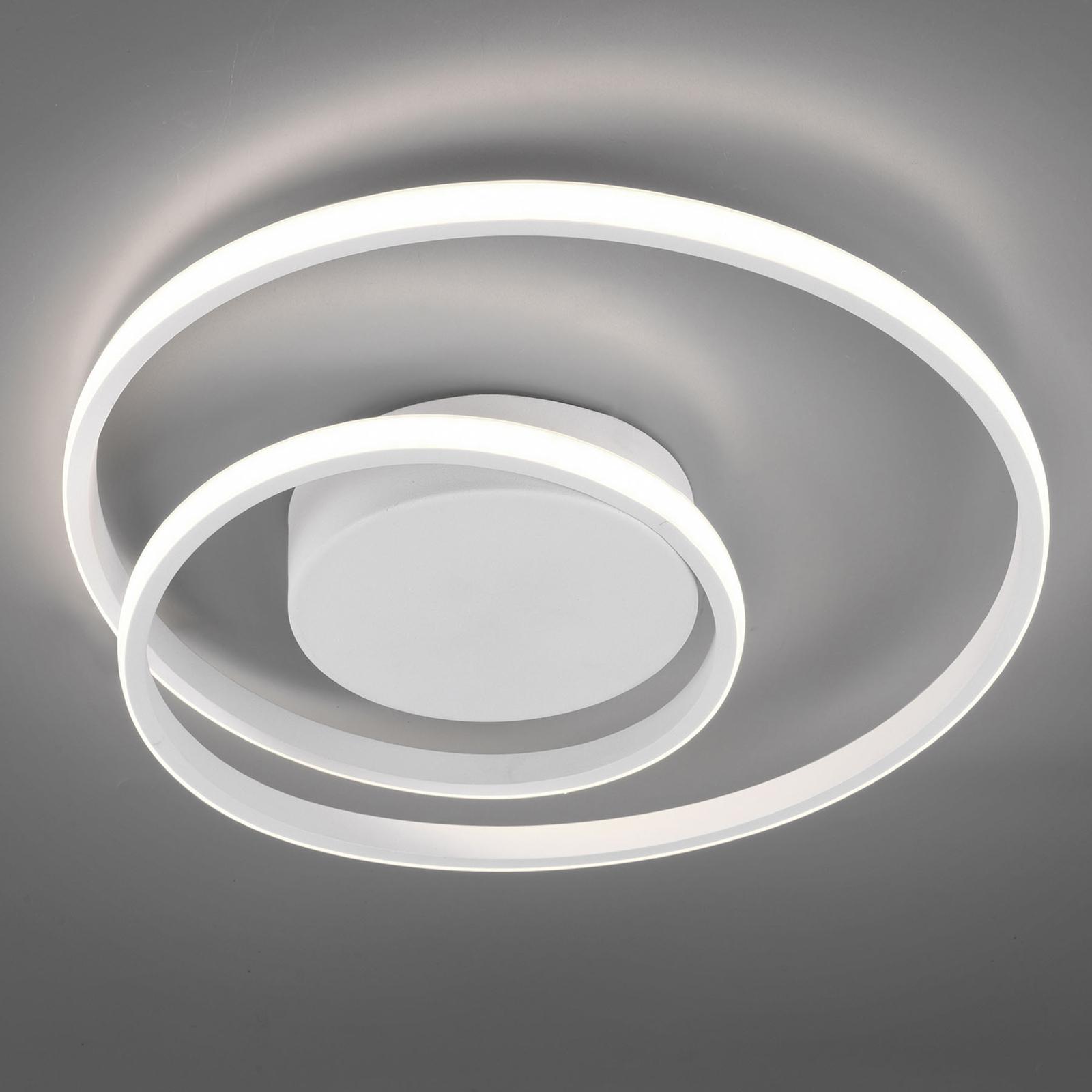 LED-kattovalaisin Zibal, himmennettävä, valkoinen