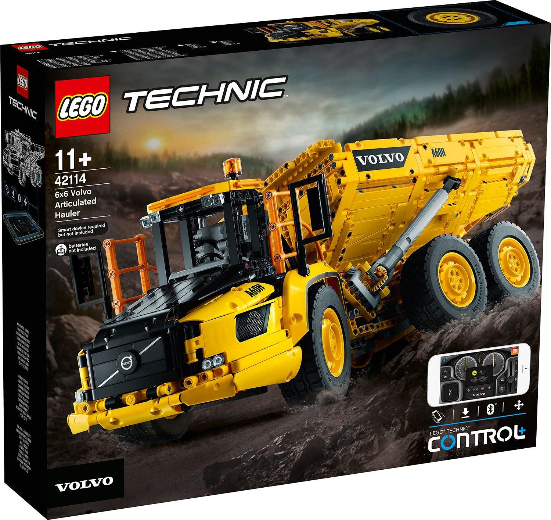 LEGO Technic 42114 Volvo 6x6 Nivelkuorma-auto