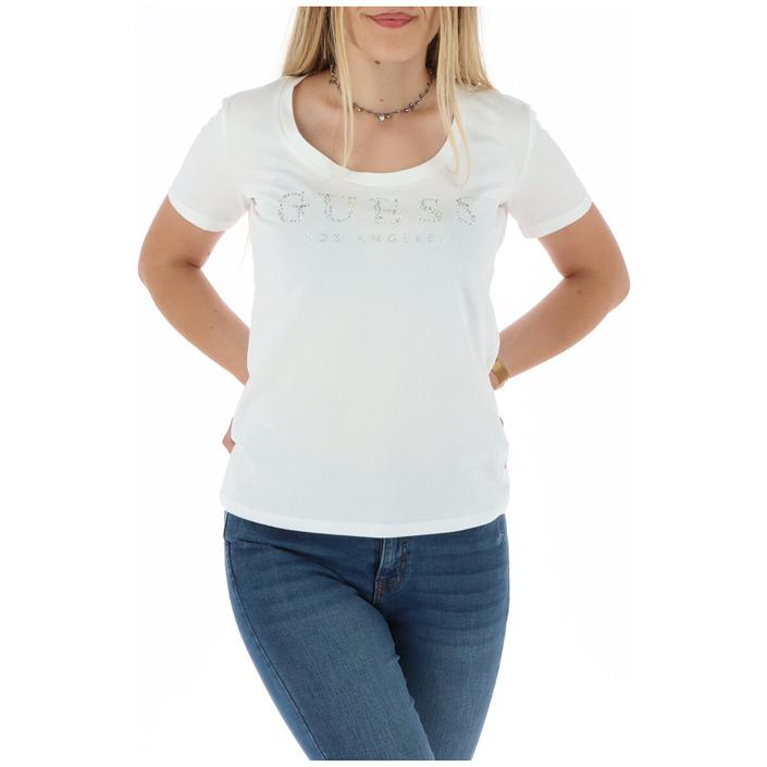 Guess Women's T-Shirt White 301118 - white XS