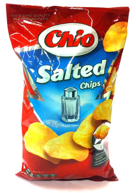 Chips, Chio salta 150g - 22% rabatt