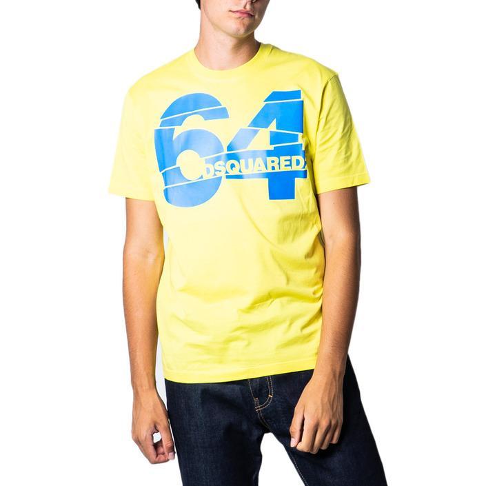 Dsquared Men's T-Shirt Yellow 175415 - yellow-2 M