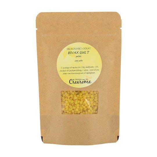 Crearome Ekologiskt Bivax Gult i pellets