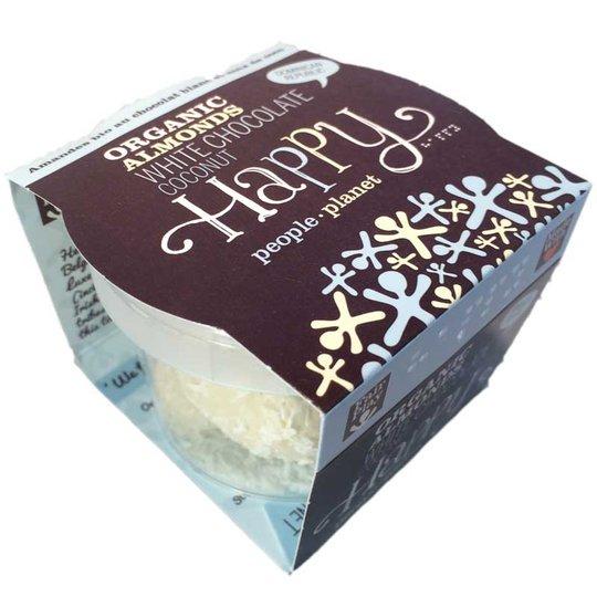 Happy mandlar vit choklad & kokos - 60% rabatt