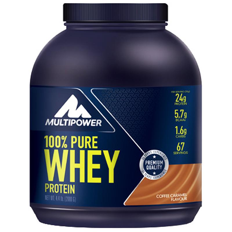 "Proteinpulver ""Coffee & Caramel"" 2kg - 35% rabatt"