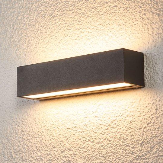 LED-seinävalaisin Tilde ulkokäyttöön, IP65