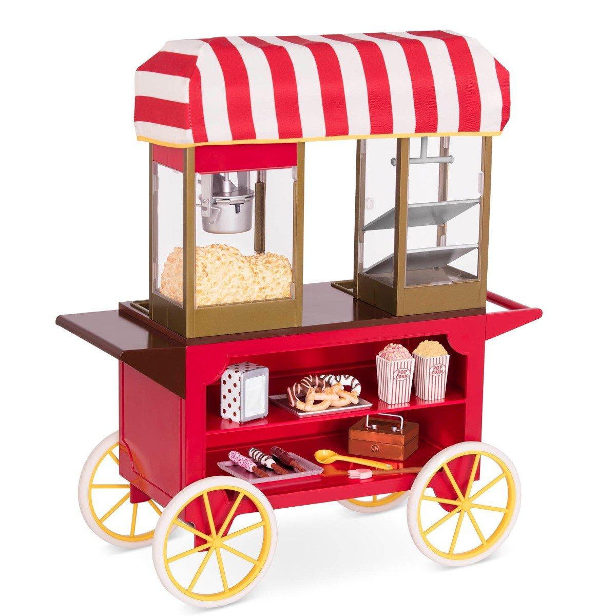 Our Generation - Poppin' Plenty Snack Cart (737931)