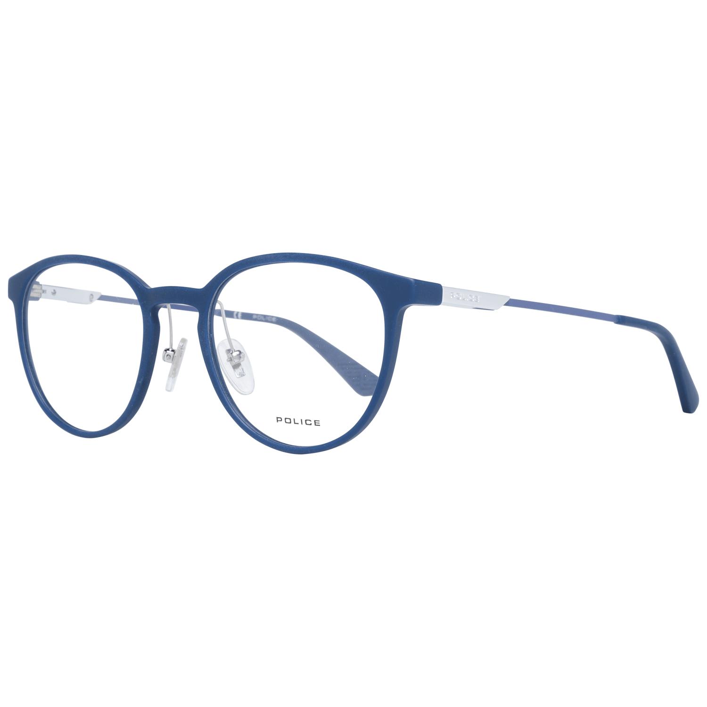 Police Men's Optical Frames Eyewear Blue PL695 500R22
