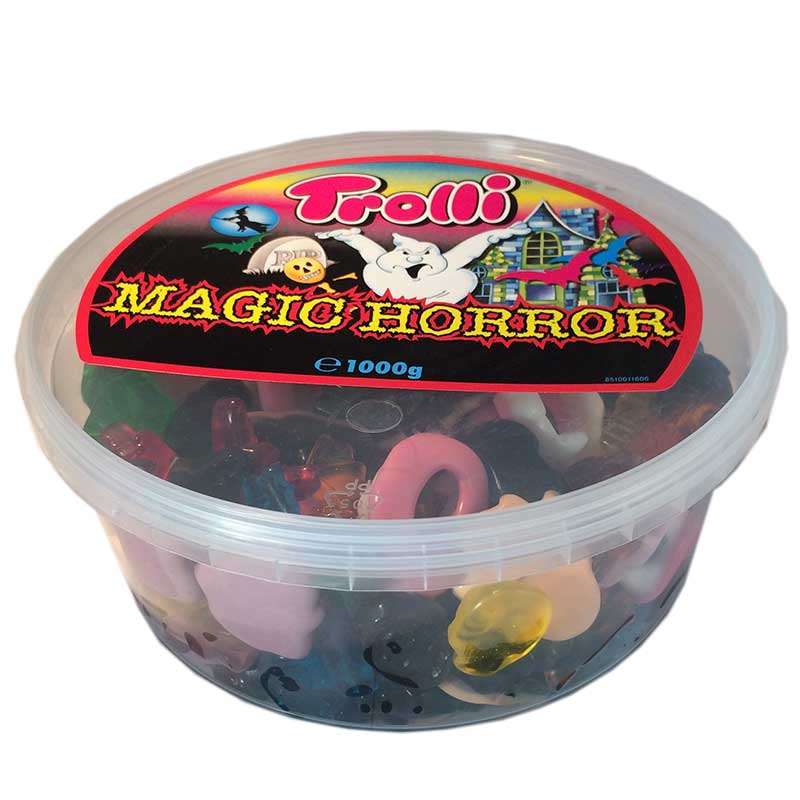 1 kg lösgodis Magic Horror - 30% rabatt