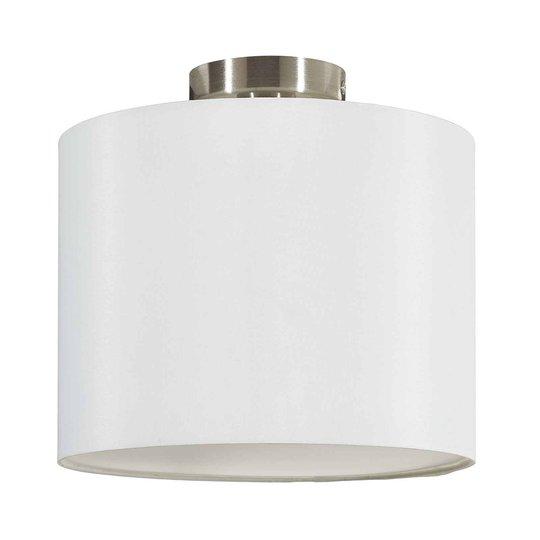 Lucande Patrik taklampe av tekstil Ø30cm hvit