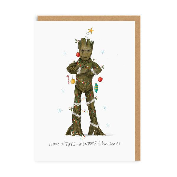 Have A Treemendous Christmas Card