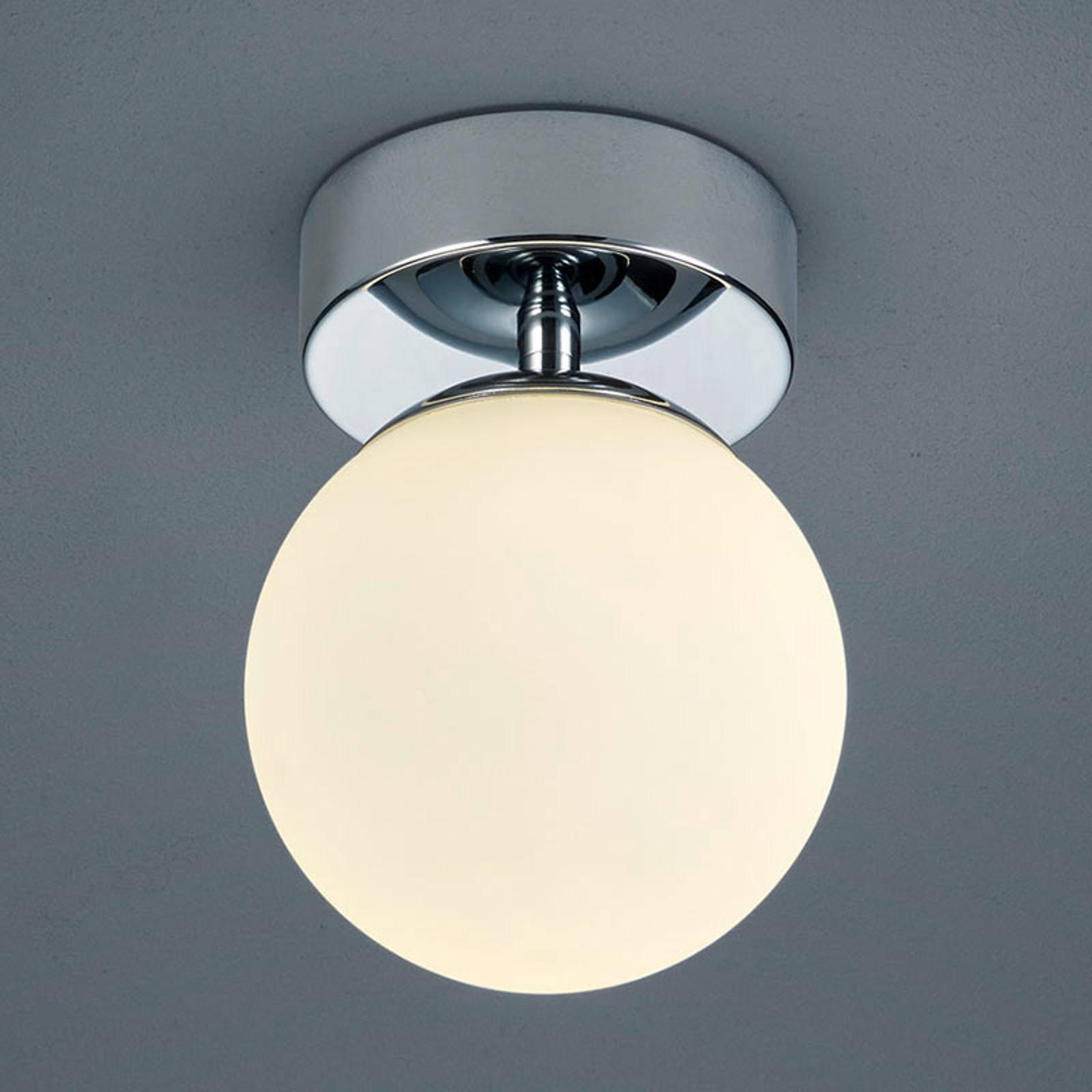 Helestra Keto - LED-taklampe til bad, kule
