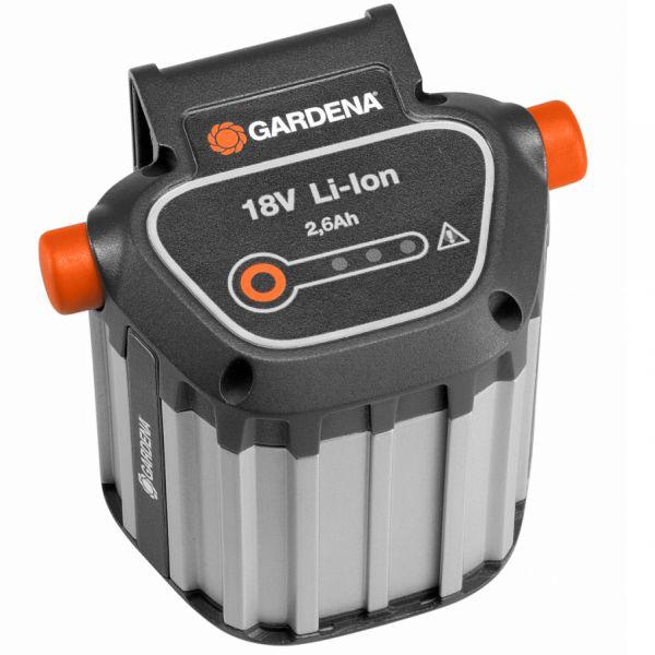 Gardena Bli-18 Batteri Li-Ion, 18 V, 2,6 Ah
