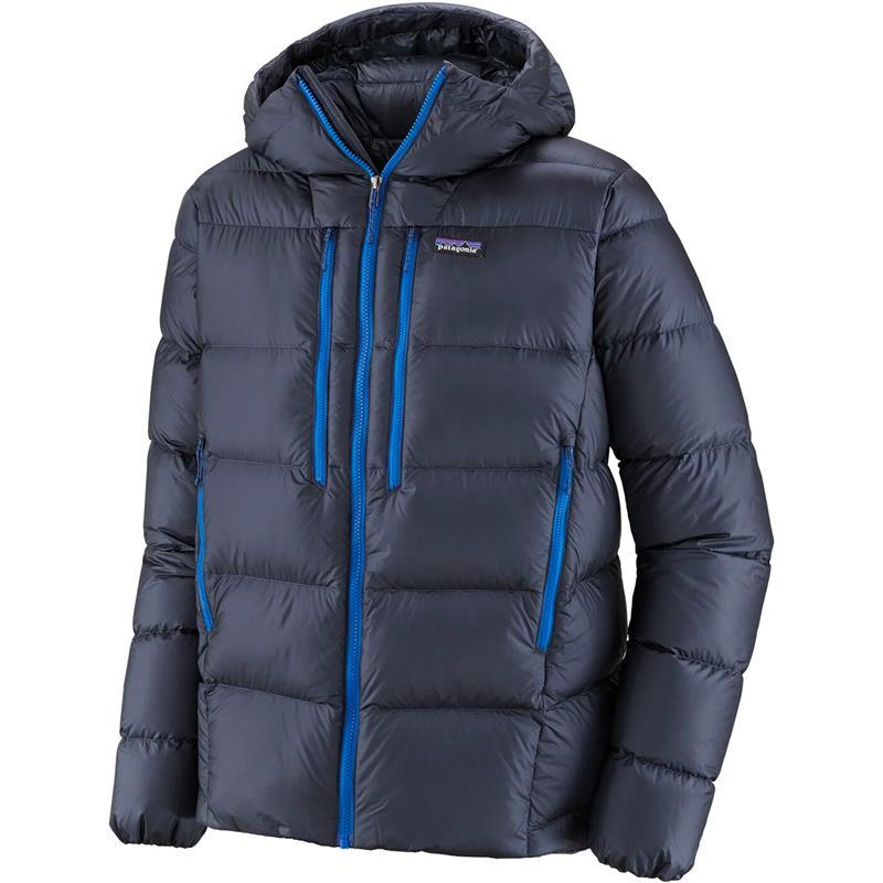 Patagonia Fitz Roy Down Hoody XL Smolder Blue
