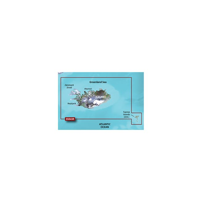 Garmin Iceland to Orkney Garmin microSD™/SD™ card: VEU043R
