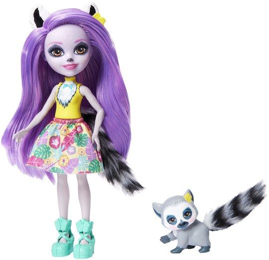 Enchantimals Larissa Lemur & Ringlet Dukker