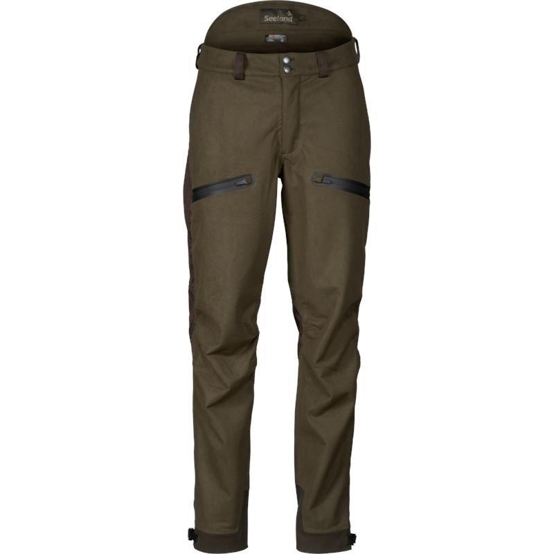 Seeland Climate Hybrid bukse 52 Til høst og vinterjakt, Pine Green