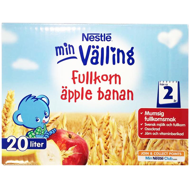 Välling Fullkorn Äpple & Banan 3kg - 39% rabatt