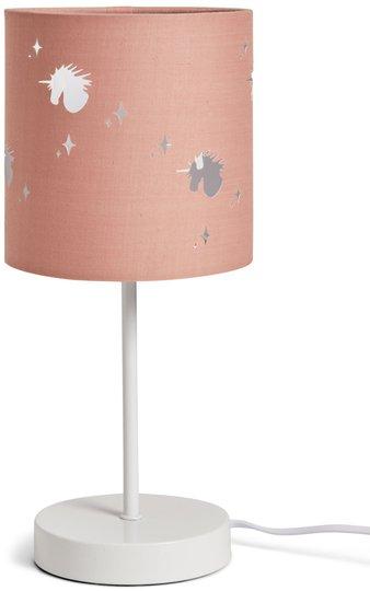 Alice & Fox Bordlampe Unicorn, Dusty Pink