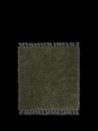Amass Long Pile Rug - Olive