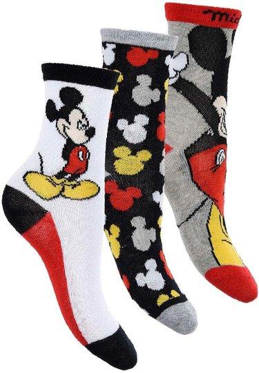 Disney Mikke Mus Sokker 3-pack, 27-30