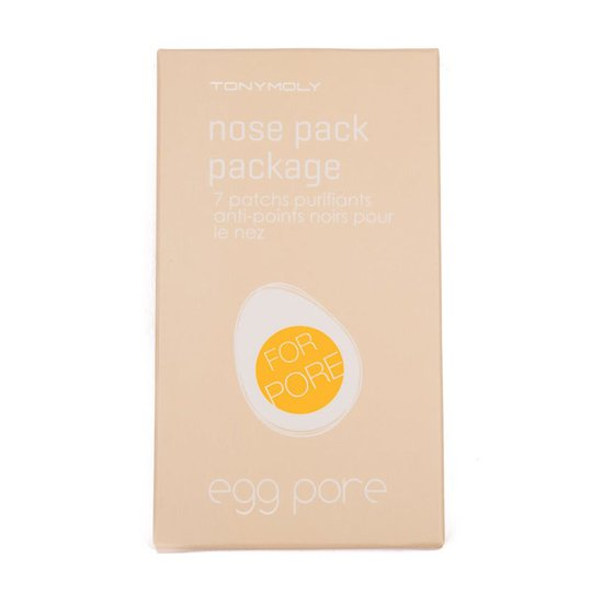 Egg Pore Nose Pack Package, Tonymoly K-Beauty Kasvonaamiot