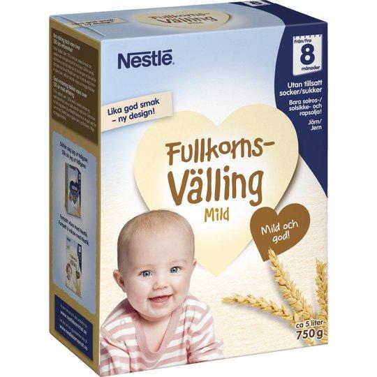Barnmat Välling Mild Fullkorn - 69% rabatt