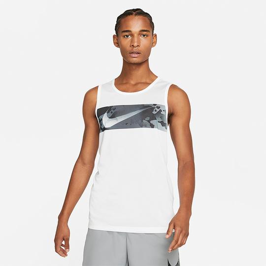 Nike Leg Tank Camo, White