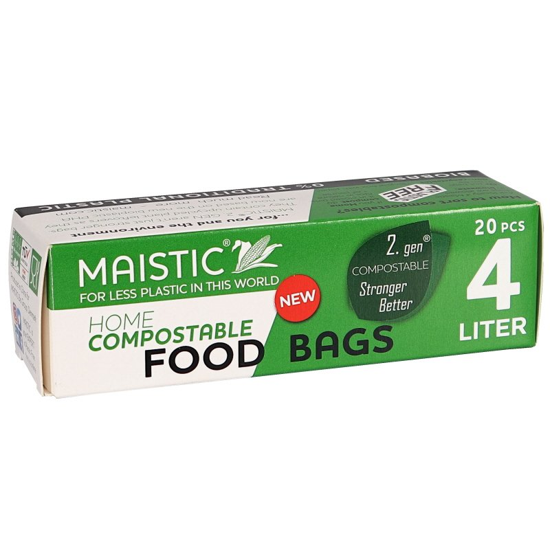 Fryspåsar Komposterbara 4L - 32% rabatt