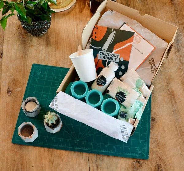 At Home: Cast & Curious Mini Pots