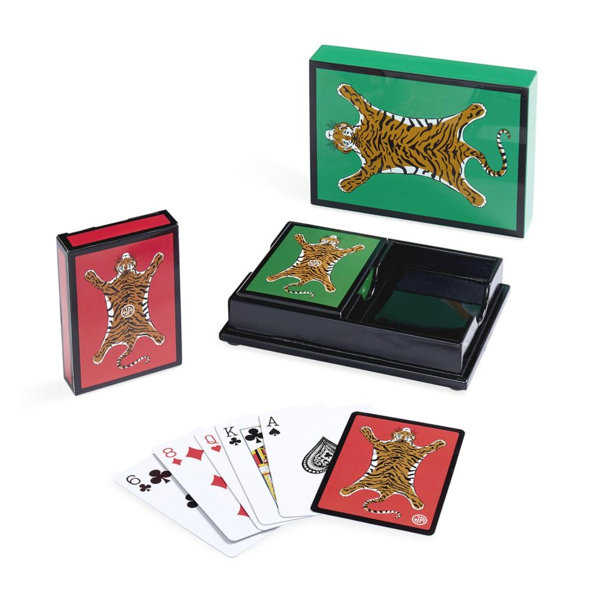 Jonathan Adler I Tiger Lacquer Card Set