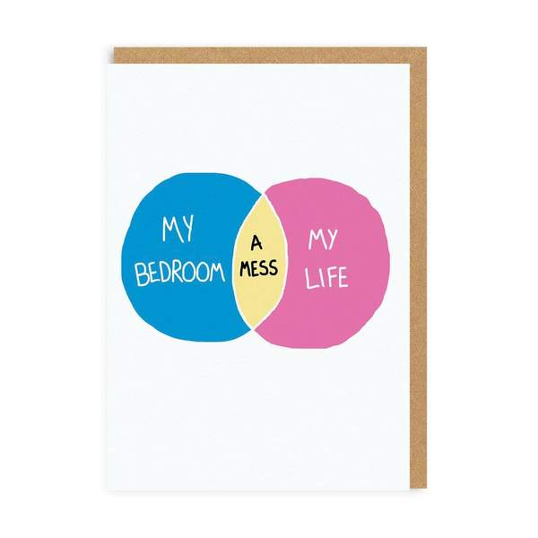 My Bedroom, My Life Greeting Card