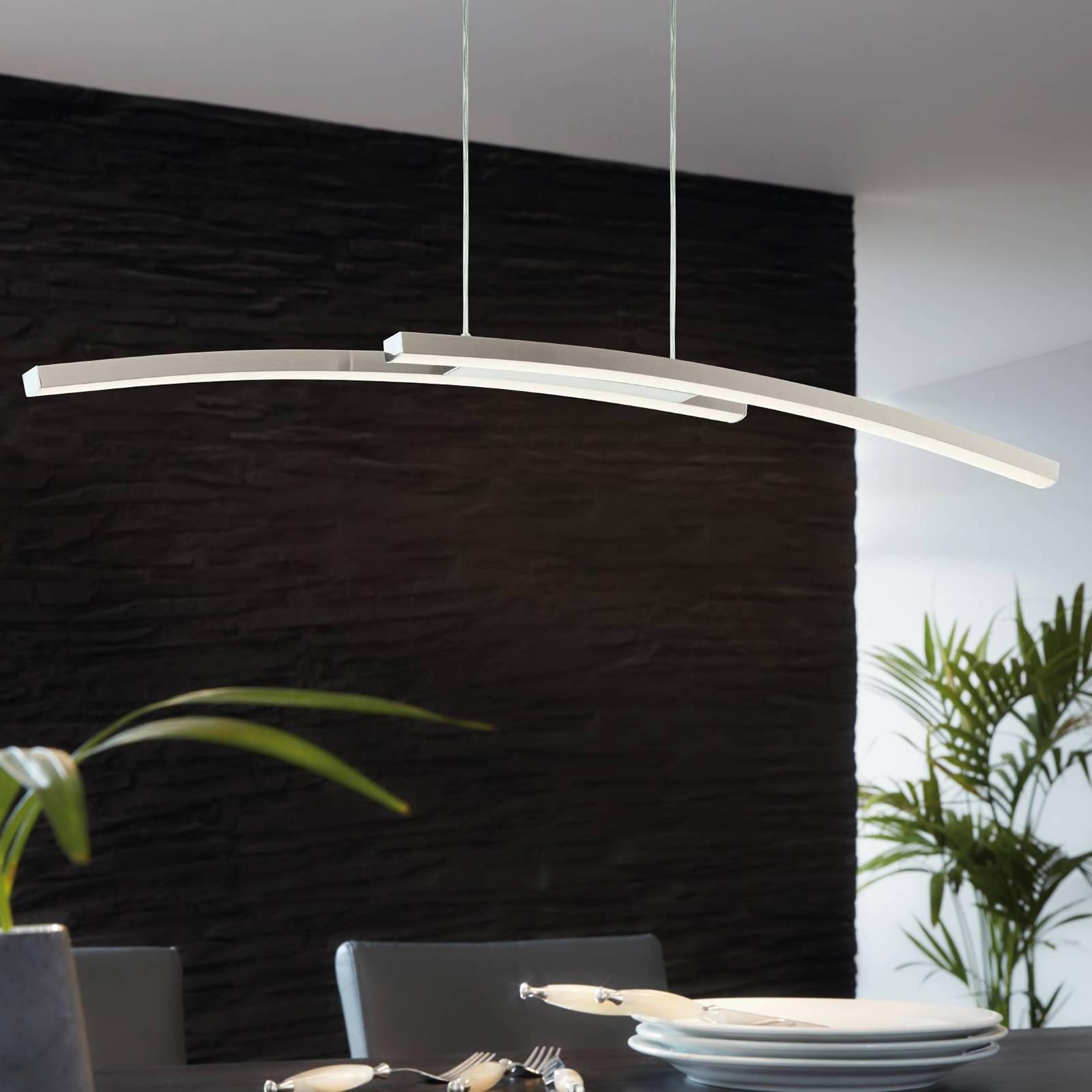 EGLO connect Fraioli-C -LED-riippuvalaisin kaareva