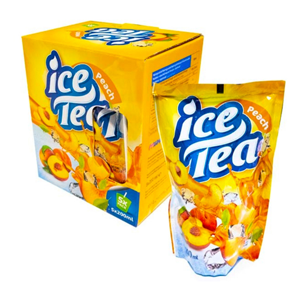 Ice Tea Peach Tetrapåse - 5-pack / 200 ml