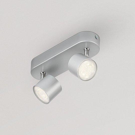 LED-kattovalaisin Star kaksilamppuinen käännettävä