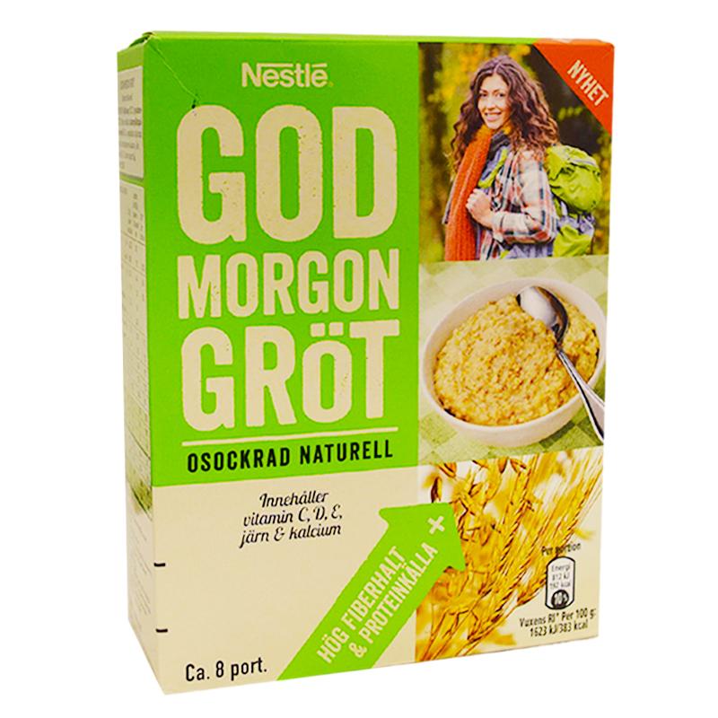 "Gröt ""God Morgon"" Osockrad - 35% rabatt"