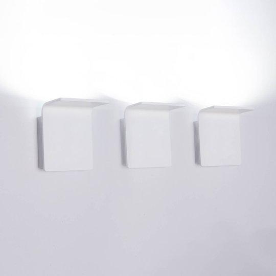 Innermost Bracket LED-vegglampe, hvit, dimbar