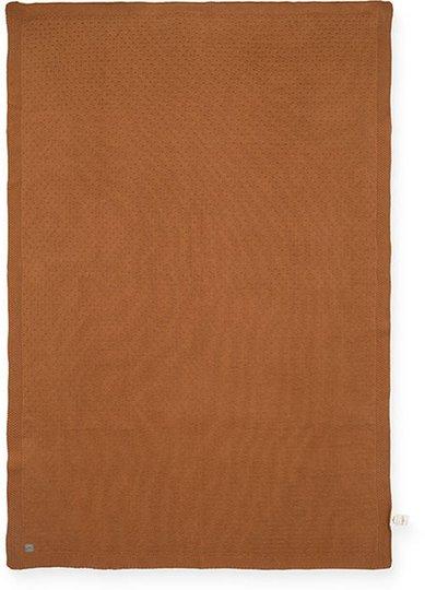 Jollein Teppe Bliss knit 75x100cm, Caramel