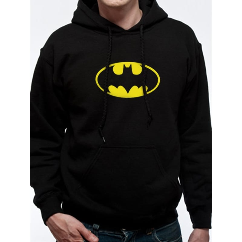 Batman Original Logo Hoodie, Small