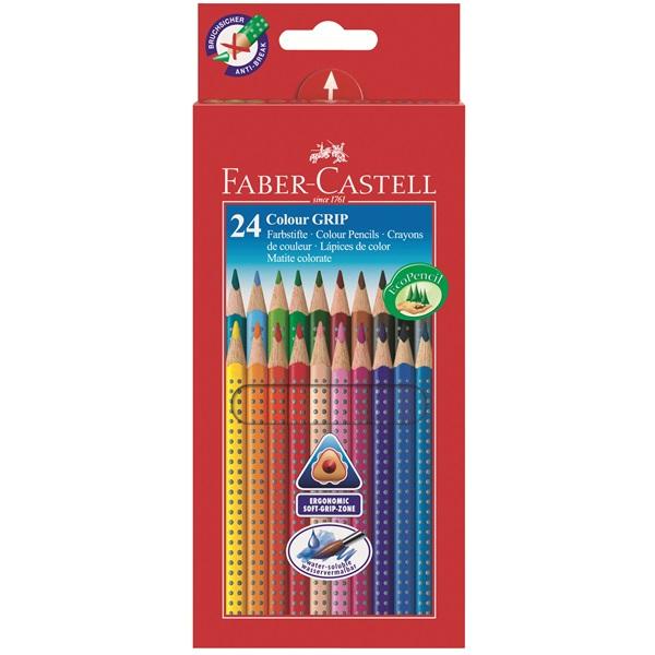 Faber-Castell - 24 Colour Grip 2001 pencils (112424)