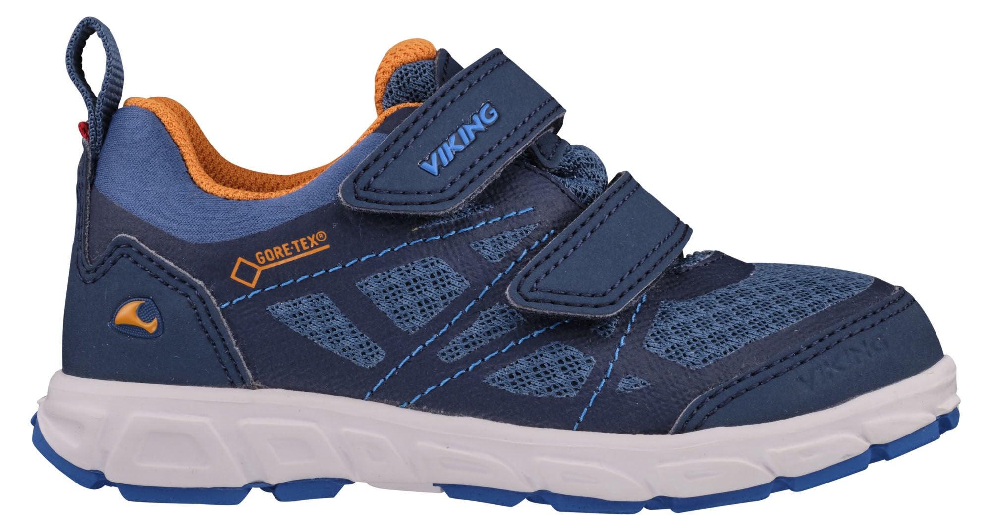 Viking Veme Vel GTX Sneaker, Navy/Demin, 22