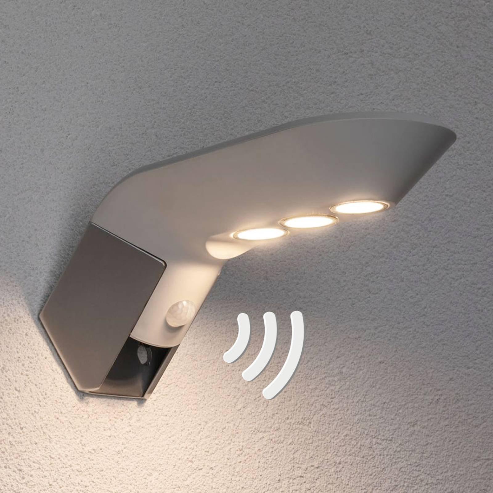 Paulmann Soley hvit utendørs LED-sol-vegglampe