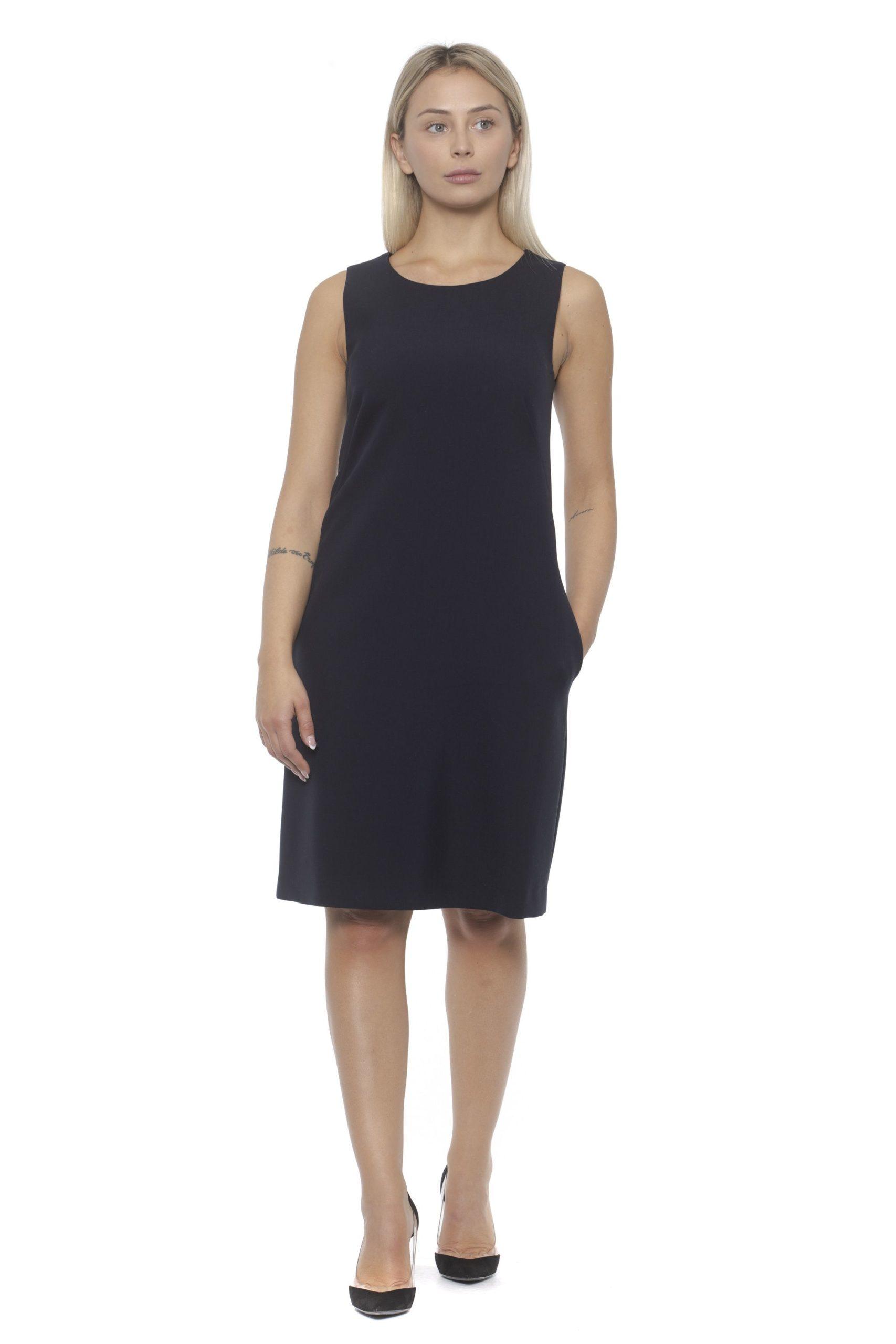Peserico Women's Dress Blue PE1383192 - IT42   S