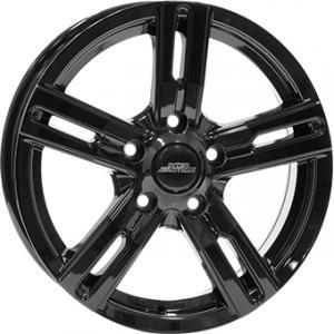 Inter Action Kargin Gloss Black 6.5x16 5/112 ET45 B72.6