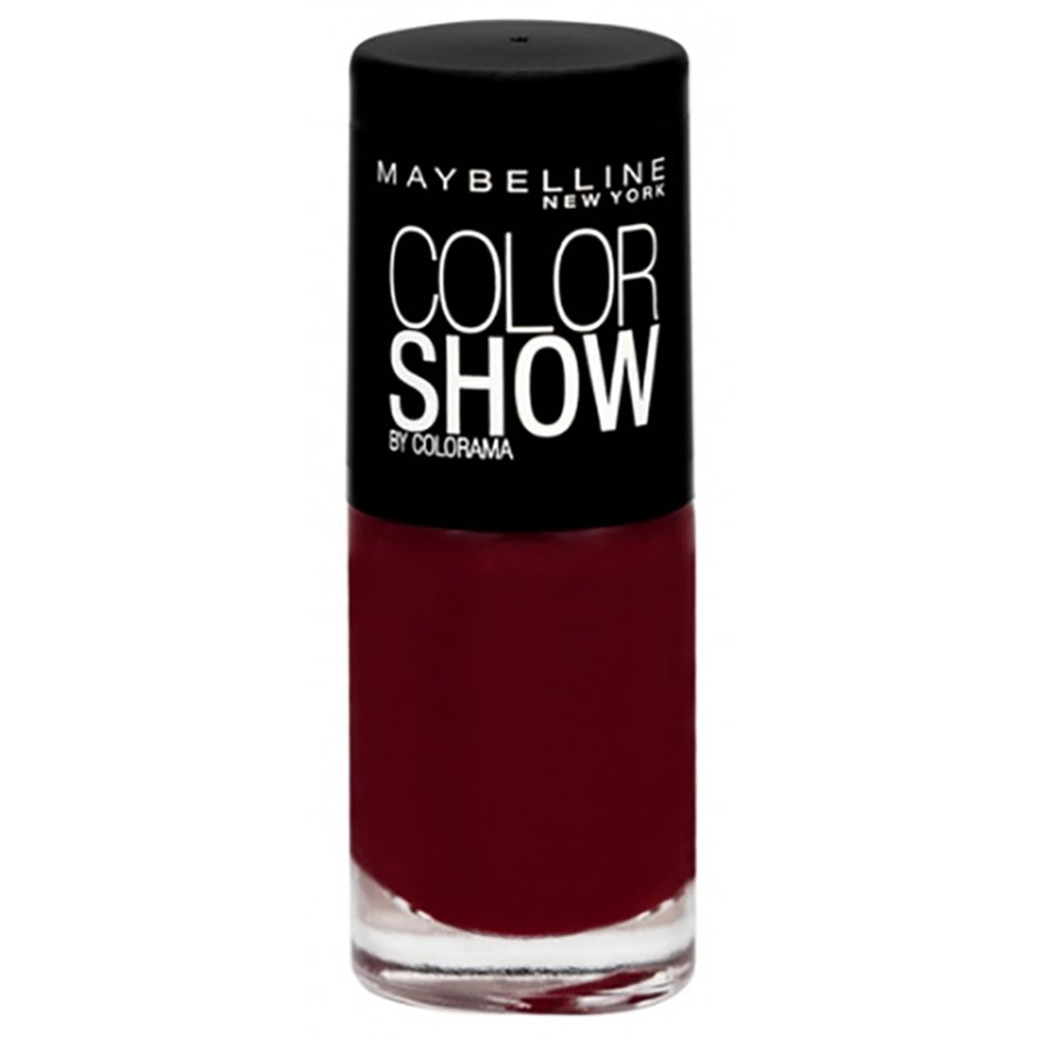 Maybelline New York Colo Rama, 352 Downtown Red, 7 ml Maybelline Värilakat