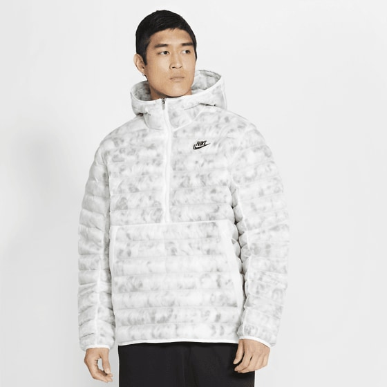 Nike M Nsw Ins Mrbl Jkt Jackor SUMMIT WHITE/SUMMI