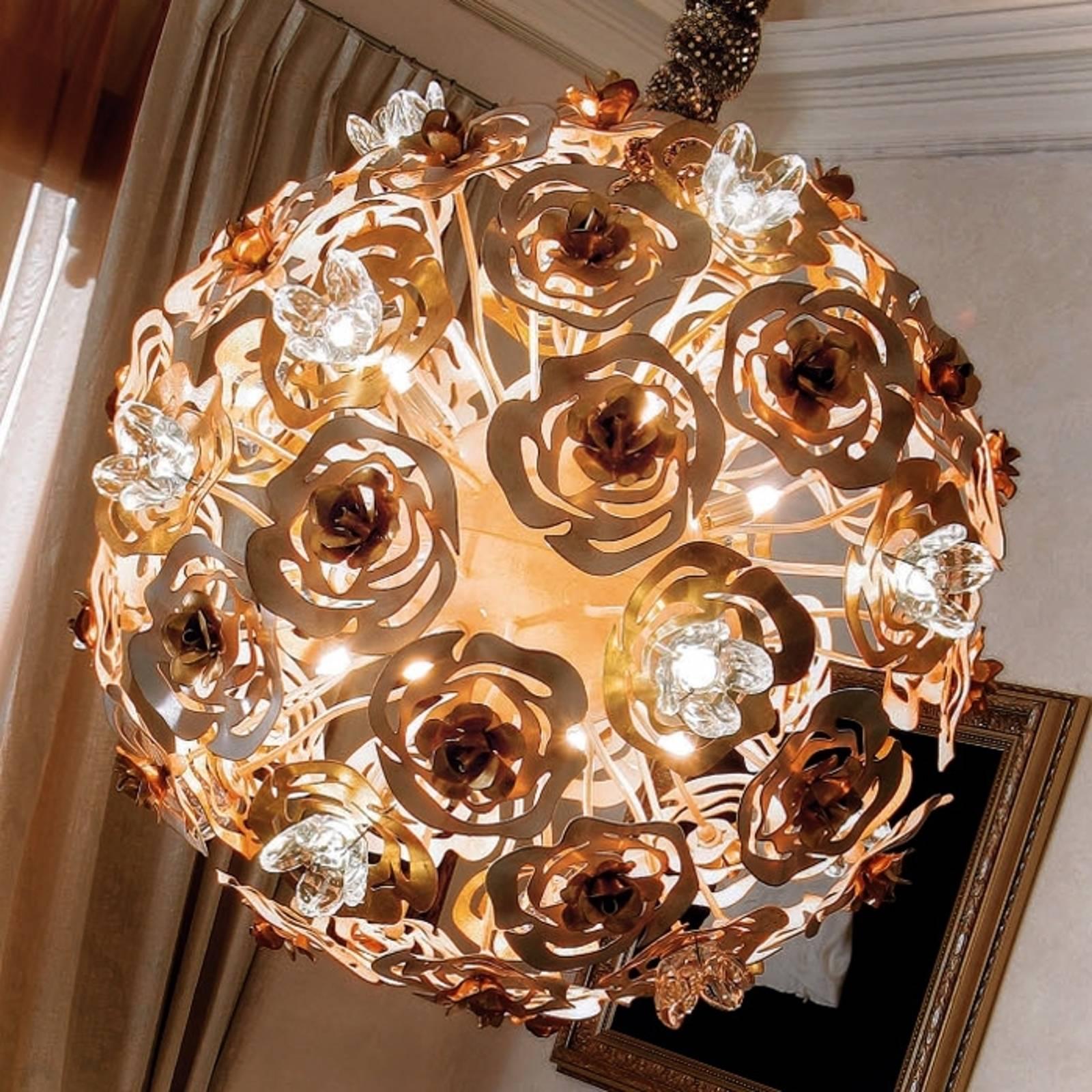 Kaunis LED-riippuvalaisin VIE EN ROSE