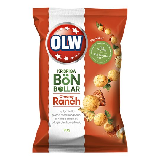 OLW Bönbollar Ranch - 90 gram