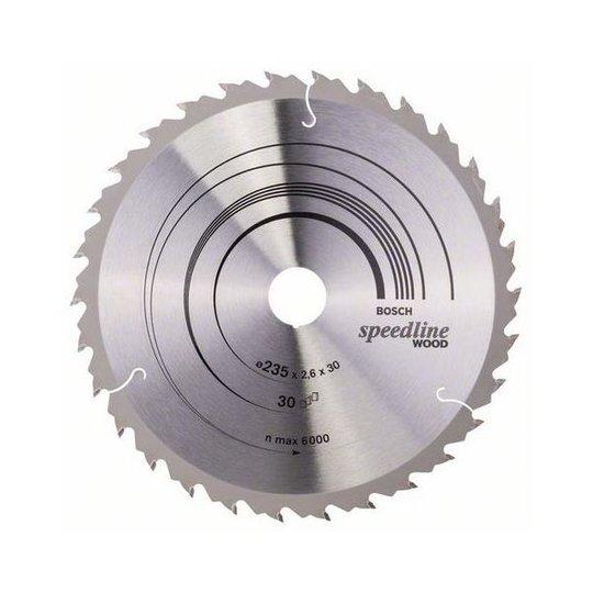 Bosch 2608640807 Speedline Wood Sahanterä 30T