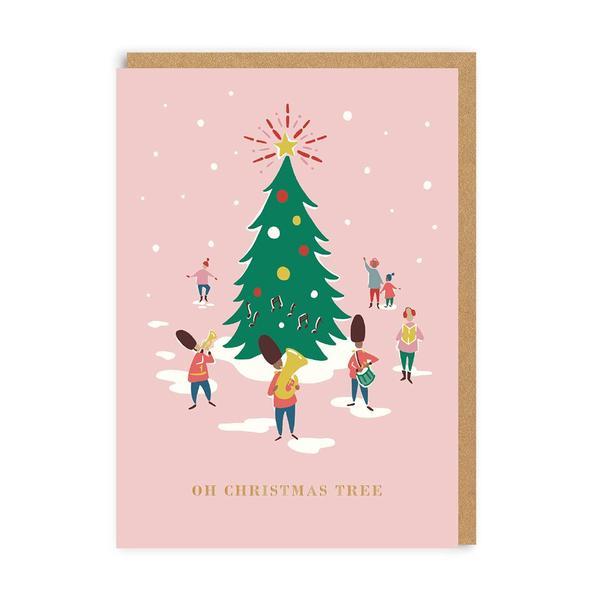 Oh Christmas Tree Band Christmas Card