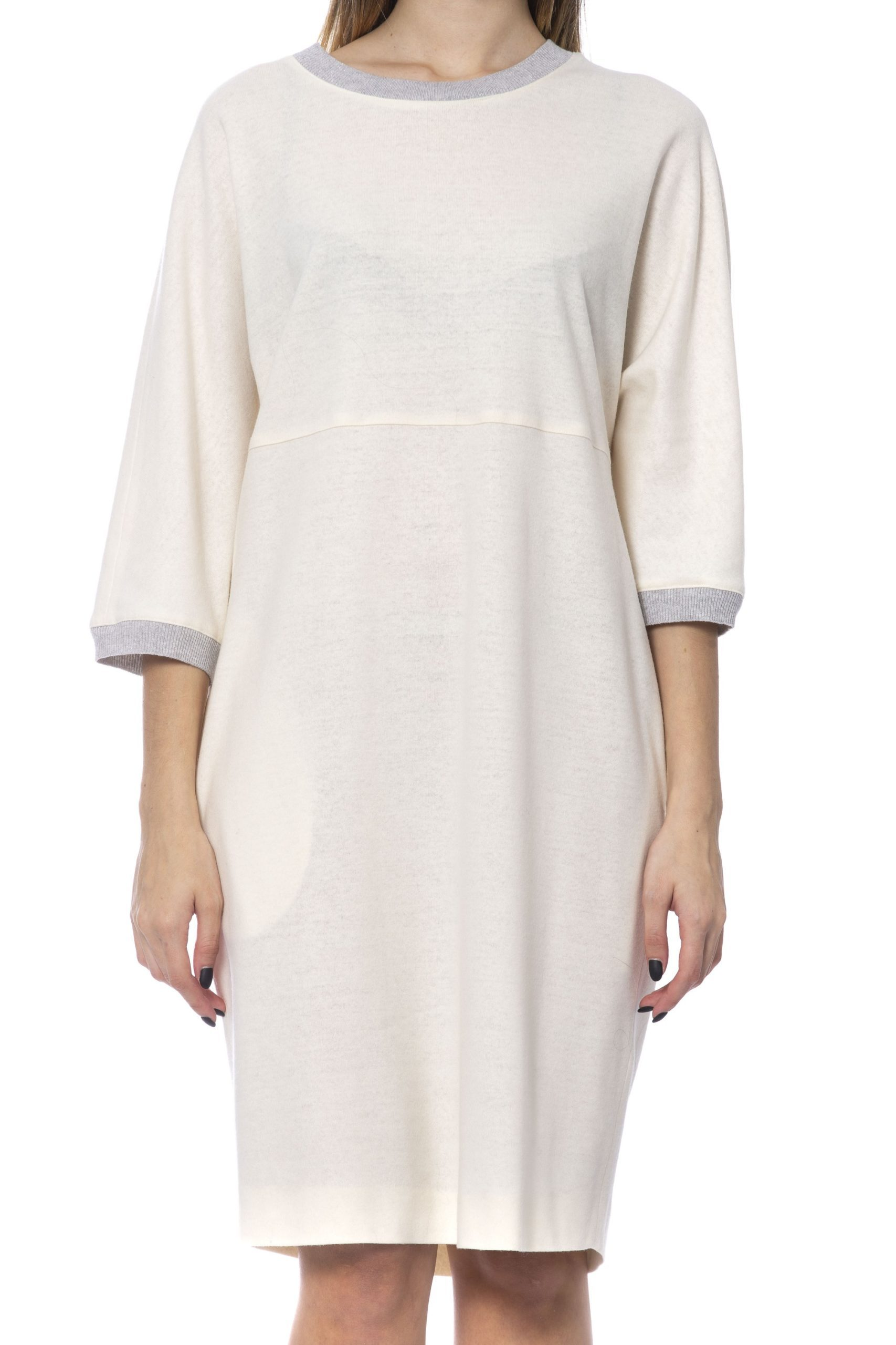 Peserico Women's Dress Beige PE993816 - IT42   S